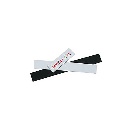 """Office Depot® Brand Magnetic Warehouse Label Roll, LH120, 1"""" x 50', White"""