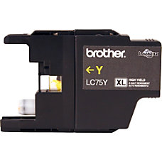Brother LC75Y Original Ink Cartridge Inkjet