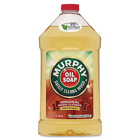 Murphy 32oz Oil Soap Wood Cleanr - Liquid - 0.25 gal (32 fl oz) - Fresh, Murphy Scent - 9 / Carton
