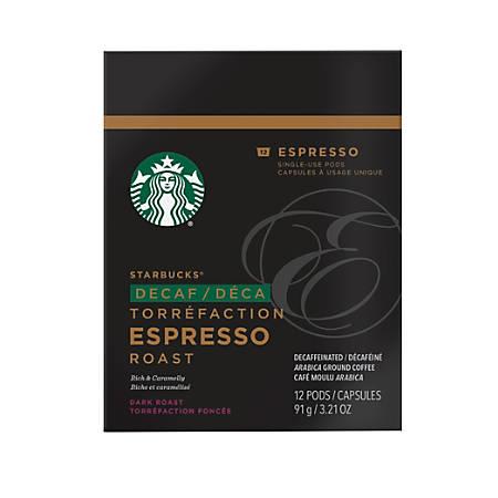 Verismo™ Decaf Espresso Pods, 2 Oz, Box Of 12 Pods