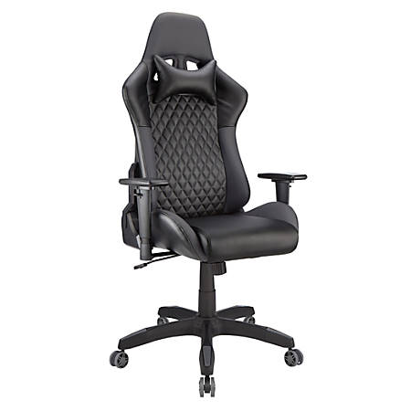 Realspace® DRG Gaming Chair, Black/Gray Item # 7508355