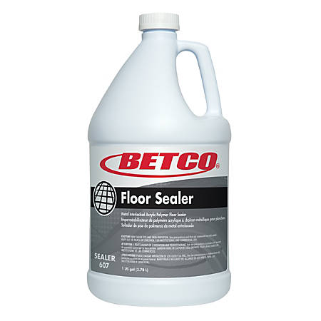 Betco® Floor Sealer, 1-Gallon, Pack Of 4