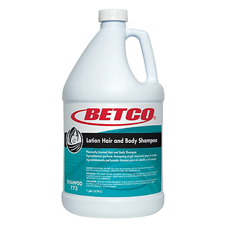 Betco Winning Hands Hair And Body Shampoo, 1 Gallon, Pack Of 4