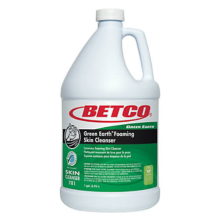 Betco Green Earth Foaming Skin Cleanser, 1 Gallon, Pack Of 4