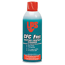 CFC Free Electro Contact Cleaners 11
