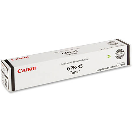 Canon GPR-35 Original Toner Cartridge - Laser - 14600 Pages - Black - 1 Each