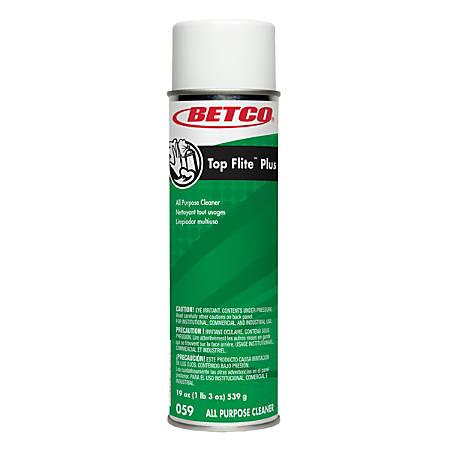 Betco® Top Flite™ Plus All-Purpose Cleaner, Pleasant Scent, 19 Oz, Pack Of 12