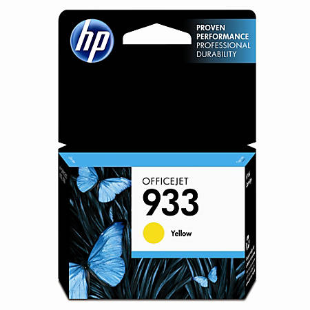 HP 933, Yellow Original Ink Cartridge (CN060AN)