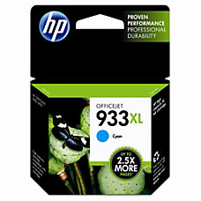 HP 933XL Cyan Ink Cartridge CN054AN