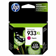 HP 933XL Magenta Ink Cartridge CN055AN
