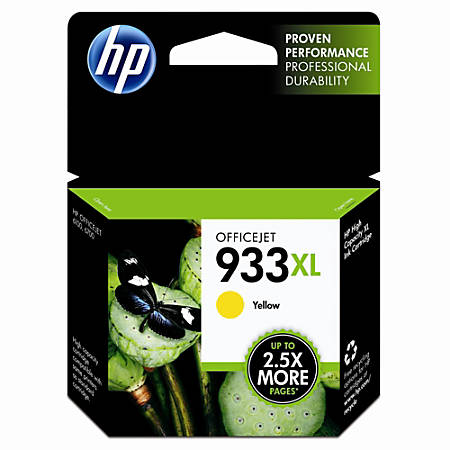 HP 933XL Yellow Ink Cartridge (CN056AN)