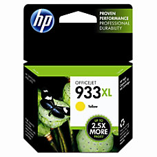 HP 933XL Yellow Ink Cartridge CN056AN