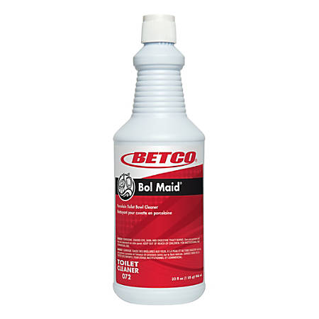 Betco® Heavy-Duty Bowl Cleaner, 1-Quart, Pack Of 6