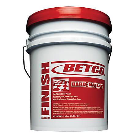Betco® Hard As Nails® Floor Finish, 5 Gallons