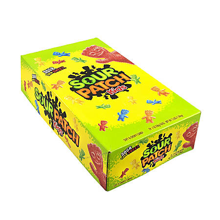Sour Patch Kids, 2 Oz, Box Of 24 Pouches