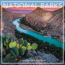 Landmark National Parks Monthly Wall Calendar