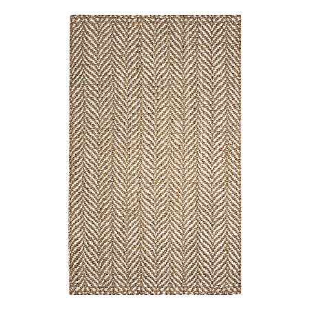 Anji Mountain Sandscape Jute Rug, 10' x 14', Multicolor