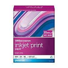 Office Depot Inkjet Print Paper Letter