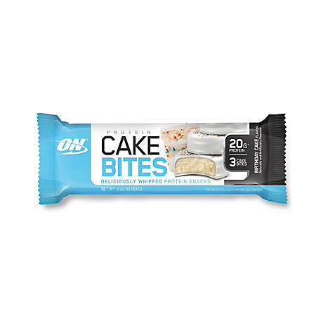Cake Bites Birthday Protein Bar 222 Oz