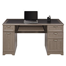 Realspace Magellan Collection Managers Desk Gray