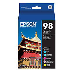 Epson T098120 BCS High Yield BlackColor