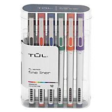TUL Fine Liner Felt Tip Pens