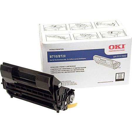OKI® 52123602 High-Yield Black Toner Cartridge