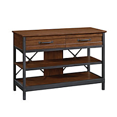 Sauder Carson Forge Anywhere Console for