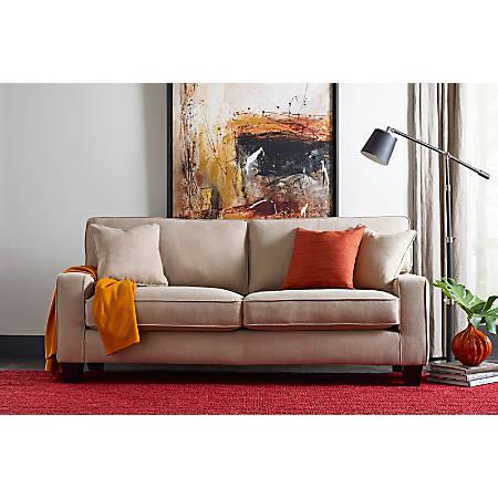 "Serta® Deep-Seating Palisades Sofa, 78"", Sand/Espresso"