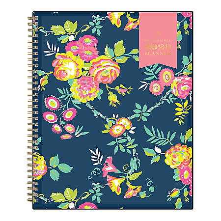 "Day Designer Peyton Weekly/Monthly CYO Planner, 8-1/2"" x 11"", Navy, January To December 2020, 103617"