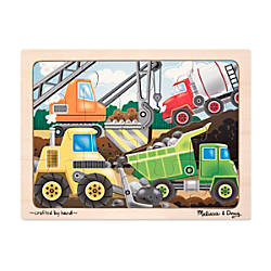Melissa Doug 12 Piece Construction Site