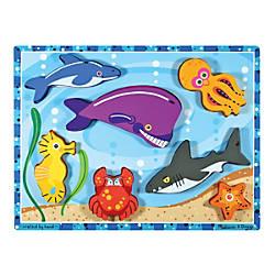 Melissa Doug Sea Creatures Chunky Puzzle