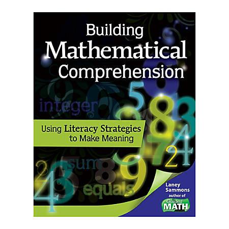 Shell Education Building Mathematical Comprehension, Grades Pre-K - 3