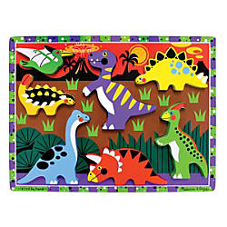 Melissa Doug Dinosaurs Chunky Puzzle