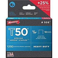 Arrow T50 Staples 50624 38 10mm