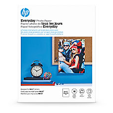 HP Everyday Photo Paper Letter Size