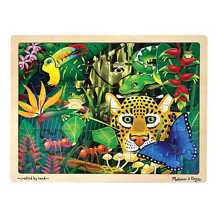 Melissa & Doug Rain Forest 48-Piece Jigsaw Puzzle