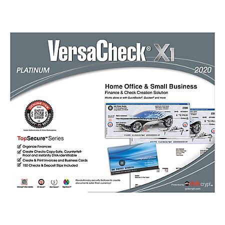 VersaCheck® X1 Platinum 2020