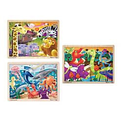 Melissa Doug Jigsaw 24 Piece Puzzles