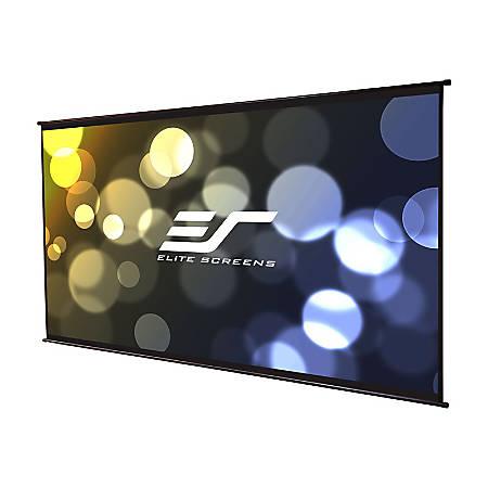 "Elite Screens DIY Wall 2 Series DIYW150H2 - Projection screen - wall mountable - 150"" (150 in) - 16:9 - MaxWhite B - black"