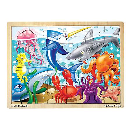 Melissa & Doug 24-Piece Under The Sea Jigsaw Puzzle