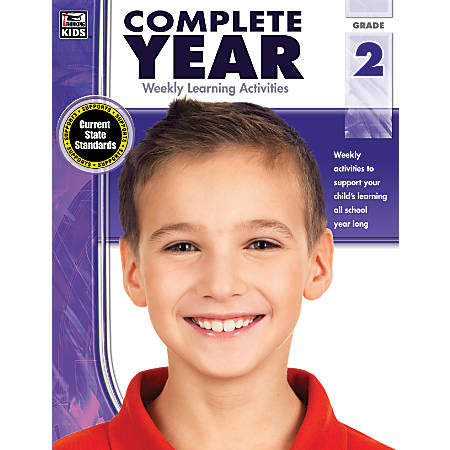 Thinking Kids Complete Year Books, Grade 2