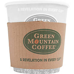 Green Mountain Coffee Roasters Cup Sleeves