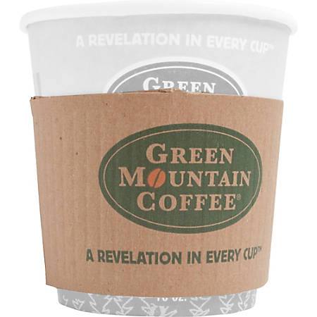 Green Mountain Coffee Roasters Cup Sleeves - 1200 / Carton