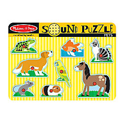 Melissa Doug Pets 8 Piece Sound