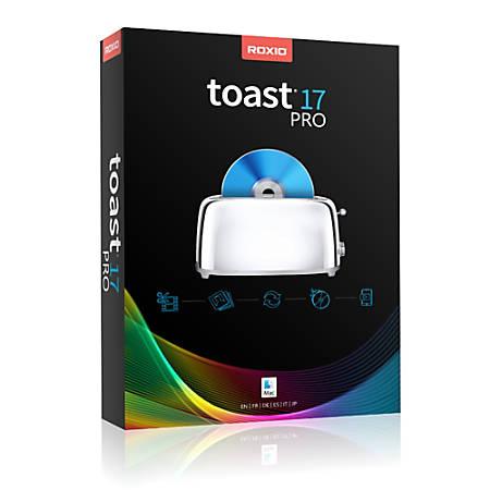 Roxio Toast 17 Pro (Mac), Download Version