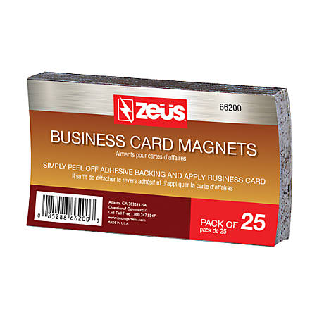 baumgartens business card magnets 2 x - Business Card Magnets Cheap