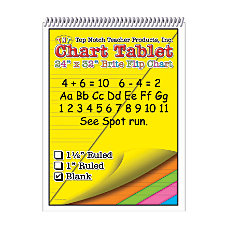 Top Notch Brite Chart Tablets 24
