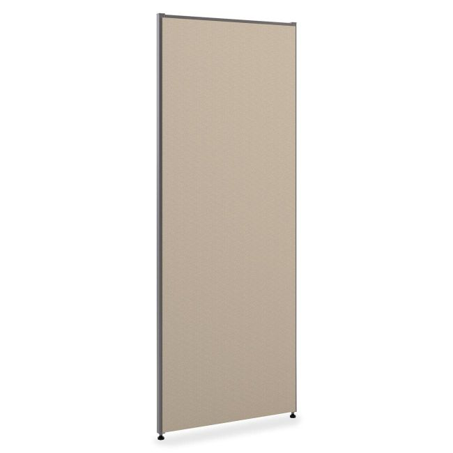 basyx by HON Verse Panel System 72 H x 36 W Gray by Office Depot