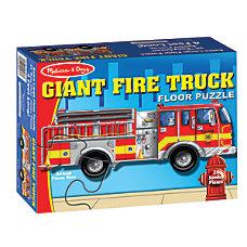 Melissa Doug Giant Fire Truck 24
